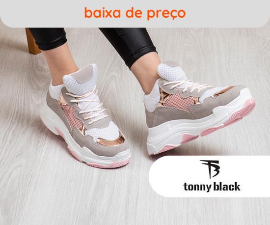 Tonny Black shoes baixa de preço