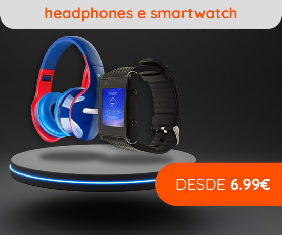 72H Smartwatch & Headphones desde 6,99Eur