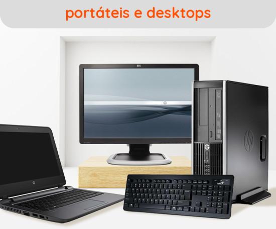 Portáteis, Desktops e Acessórios