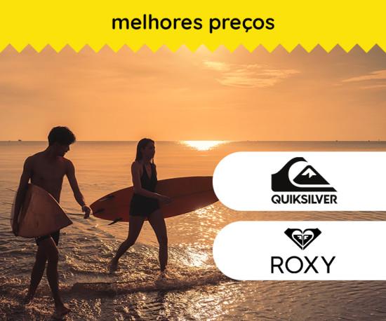 Quiksilver & Roxy Os melhores preços!!