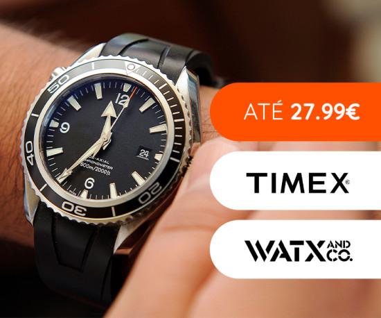Relógios até 27,99€