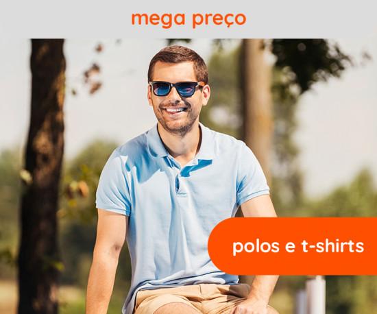 Polos e Tshirts Mega Preço!!