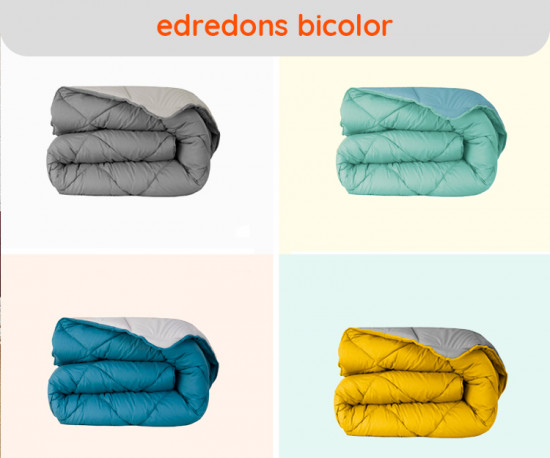 Edredons Bicolor