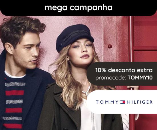 Tommy Hilfiger Mega Campanha +10% desconto