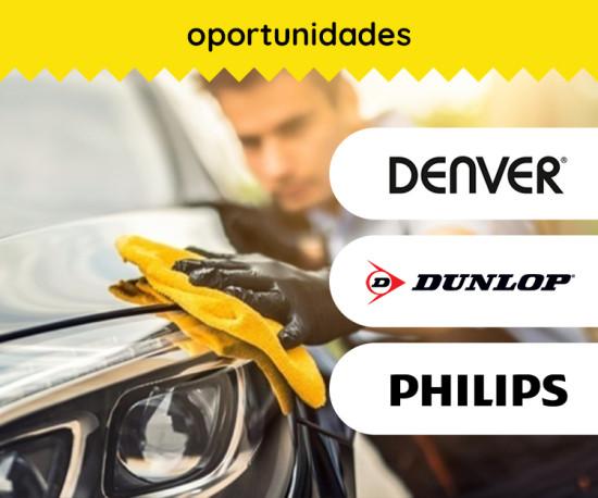 Cuide do seu Automóvel ( Dunlop, Philips, Denver )