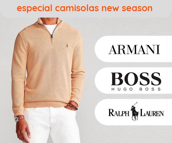Especial Camisolas New Season
