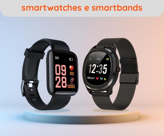 Smartwatches, Smartbands e Acessórios
