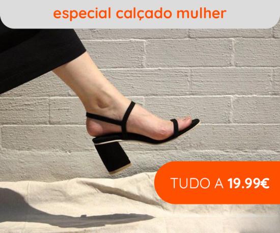 Especial Calçado Mulher tudo a 19,99€