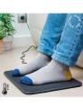 Ideal para manter os pés quentes nos dias frios de inverno! Tapete elétrico!