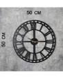Relógio de Parede Metal WD Preto