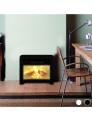 Estufa Elétrica Mica Eco Class Heaters® Preto