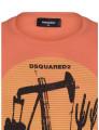 T-shirts Dsquared Homem Laranja