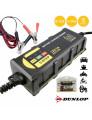 Carregador Bateria Dunlop de Gel e Chumbo c/ Carga Inteligente