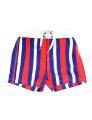 Calções Trunks String Classic Throttleman Rapaz Vermelho, Azul e Branco