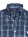 Camisa Ralph Lauren M. Comprida Azul Marinho Homem