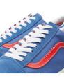 Ténis Vans Old Skool (Vintage Sport - Limited Edition) Azul Bijou e Vermelho Racing